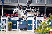 Quentin Marion - Very Good de la Bonn<br /> FEI World Breeding Jumping Championships for Young Horses 2016<br /> © DigiShots