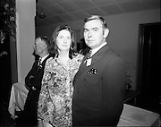 20/04/1970<br /> 04/20/1970<br /> 20 April 1970<br /> Tynagh Mines Dinner Dance at Loughrea, Co. Galway. Mr and Mrs Noel Keeman, geologist.