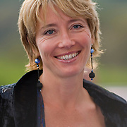"Actress Emma Thompson at the premiere of her movie ""Nanny McPhee"" , Glasgow, October 2005<br />"