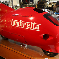 Innocenti Lambretta 125 at the Museo Panini, Modena, Italy, 2014