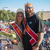 The new King and Queen at the Decatur Celebration Friday August 4, 2017