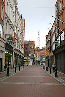 Early Morning on Wicklow Street, Dublin, Ireland