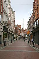 Early Morning on Wicklow Street, Dublin, Ireland