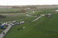 Marrum, 1 nov. 2006. Extreem hoog water in het Friese buitendijkse kweldergebied. Ruim 100 paarden in nood; 15 paarden reeds verdronken. (Friesland Buitendijks - Fryslân Bûtendyks - Noorderleeg - Noarderleech)