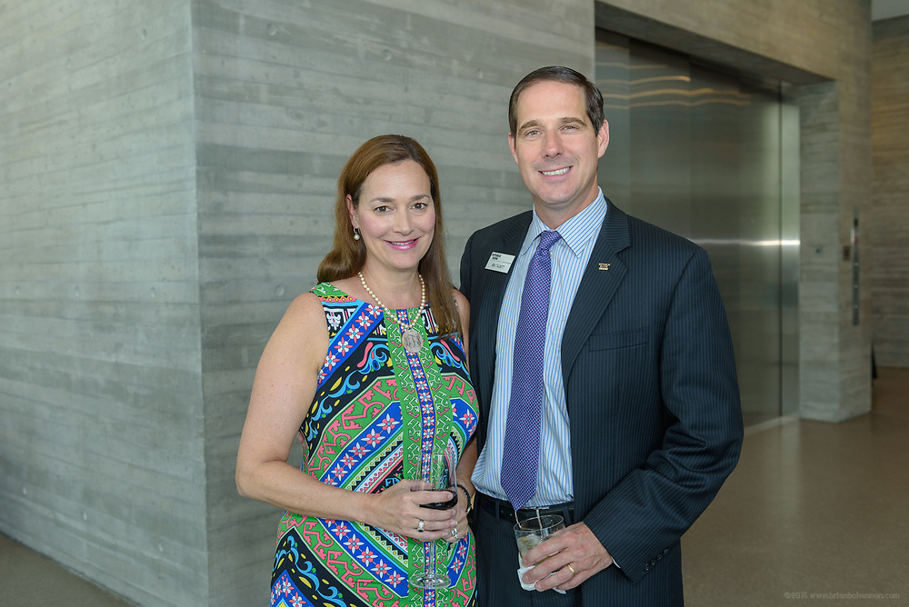 Lara Talbott and Ben Talbott at the 10-year anniversary celebration of Republic Bank's Private Banking and Business Banking divisions Wednesday, May 17, 2017, at the Speed Art Museum in Louisville, Ky. (Photo by Brian Bohannon)