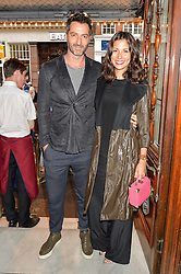NICK HOOPER and JASMINE HEMSLEY at a Gala Performance of Impossible at the Noël Coward Theatre, 85-88 Saint Martin's Lane, London on 13th July 2016.