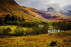 The river Nevis flowing through Glen Nevis in autumn, Highlands of Scotland<br /> <br /> (c) Andrew Wilson | Edinburgh Elite media