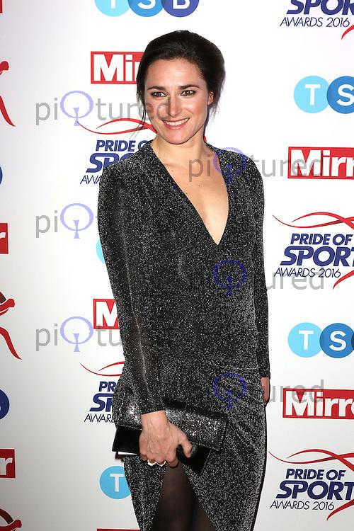 Sarah Storey, Pride of Sport Awards, Grosvenor House Hotel, London UK, 07 December 2016, Photo by Richard Goldschmidt