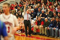 January 21, 2012: High School Boys Basketball Bridgeport vs. Robert C. Byrd. Mandatory Credit: Ben Queen