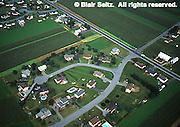 Lancaster Co. aerial photographs, suburban development on farmland, Aerial Photograph Pennsylvania