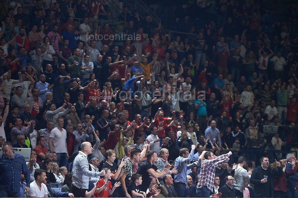 KOSARKA, Beograd, 30.03.2018. Utakmica 29. kola Evrolige izmedju Crvene zvezde i Reala iz Madrida.<br /> foto: Nenad Negovanovic