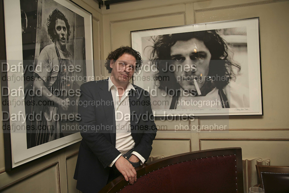 Marco Pierre White, Bob Carlos Clarke: Dark Genius - launch &amp; memorial <br />