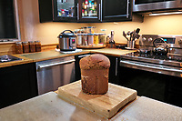 Hearty Whole Wheat & Rye Bread. Image taken with a Leica CL camera and 18 mm f/2.8 lens (ISO 1000, 18 mm, f/2.8, 1/50 sec).