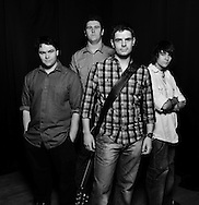 PR Photography of Manchester based House of Cain rock band in Northwich Cheshire
