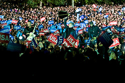 Jon Bon Jovi performs at the final rally of Democratic Presidential candidate Hillary Clinton, on November 7, 2016, at Independence Hall, in Philadelphia, PA., USA. The same city her campaign started in, also provides the final stage for Clinton as she is joined by her family and Michelle and Barrack Obama.