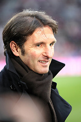 28.02.2010, Allianz Arena, Muenchen, GER, 1. FBL 09 10, FC Bayern München vs Hamburger SV, im Bild Bruno Labbadia (Trainer Hamburg)  , EXPA Pictures © 2010, PhotoCredit: EXPA/ nph/ Straubmeier / for Slovenia SPORTIDA PHOTO AGENCY.