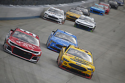 October 7, 2018 - Dover, Delaware, United States of America - Regan Smith (95) battles for position during the Gander Outdoors 400 at Dover International Speedway in Dover, Delaware. (Credit Image: © Justin R. Noe Asp Inc/ASP via ZUMA Wire)