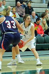 06 December 2017:  Sam Munroe during an NCAA women's basketball game between the Wheaton Thunder and the Illinois Wesleyan Titans in Shirk Center, Bloomington IL