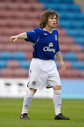 Widnes, England - Tuesday, September 4, 2007: Everton's John Paul Kissock in action against Sunderland during the Premier League Reserve match at the Halton Stadium. (Photo by David Rawcliffe/Propaganda)