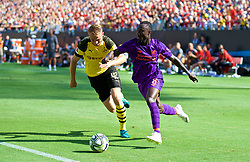 CHARLOTTE, USA - Sunday, July 22, 2018: Liverpool's Naby Keita during a preseason International Champions Cup match between Borussia Dortmund and Liverpool FC at the  Bank of America Stadium. (Pic by David Rawcliffe/Propaganda)