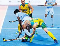 BHUBANESWAR - The Odisha Men's Hockey World League Final . Match ID 02. Australia v India. Matthew Swann (Aus)   .WORLDSPORTPICS COPYRIGHT  KOEN SUYK