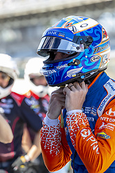 May 25, 2018 - Indianapolis, Indiana, United States of America - SCOTT DIXON (9) of New Zealand takes to the track for a practice session for the Indianapolis 500 at Indianapolis Motor Speedway in Indianapolis Indiana. (Credit Image: © Walter G Arce Sr Asp Inc/ASP via ZUMA Wire)