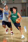 DESCRIZIONE : Bormio Ritiro Nazionale Italiana Maschile Preparazione Eurobasket 2007 Allenamento <br /> GIOCATORE : Marco Mordente<br /> SQUADRA : Nazionale Italia Uomini EVENTO : Bormio Ritiro Nazionale Italiana Uomini Preparazione Eurobasket 2007 GARA :<br /> DATA : 24/07/2007 <br /> CATEGORIA : Allenamento <br /> SPORT : Pallacanestro <br /> AUTORE : Agenzia Ciamillo-Castoria/S.Silvestri <br /> Galleria : Fip Nazionali 2007 <br /> Fotonotizia : Bormio Ritiro Nazionale Italiana Maschile Preparazione Eurobasket 2007 Allenamento <br /> Predefinita :
