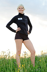 21.07.2010, Knittelfeld, AUT, Fototermin Pia Thoma, steirische Meisterin im 10 km Lauf, im Bild Pia Thoma während eines Fototermins, EXPA Pictures © 2010, PhotoCredit: EXPA/ S. Zangrando