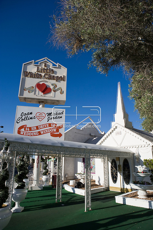 Wedding Chapel 5th June 2010 Las Vegas Nevada Known Around The World As One Of