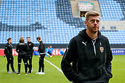 Notts County forward Jonathan Stead (30) inspects the pitch during the EFL Sky Bet League 2 match between Coventry City and Notts County at the Ricoh Arena, Coventry, England on 12 May 2018. Picture by Simon Davies.