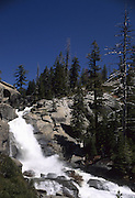 Chilnualna Falls, Waterfall, Chilnualna Creek, Yosemite National Park, Yosemite, California