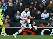 Milton Keynes Dons defender George Baldock during the Sky Bet Championship match between Milton Keynes Dons and Brighton and Hove Albion at stadium:mk, Milton Keynes, England on 19 March 2016. Photo by Bennett Dean.