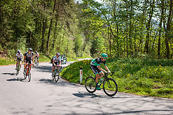25.04.2018, Innsbruck, AUT, ÖRV Trainingslager, UCI Straßenrad WM 2018, im Bild Mario Gamper (AUT), Gregor Mühlberger (AUT), Patrick Konrad (AUT) // during a Testdrive for the UCI Road World Championships in Innsbruck, Austria on 2018/04/25. EXPA Pictures © 2018, PhotoCredit: EXPA/ JFK