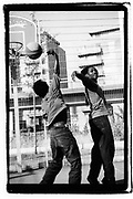 Basketball players, Deptford, UK, 2010