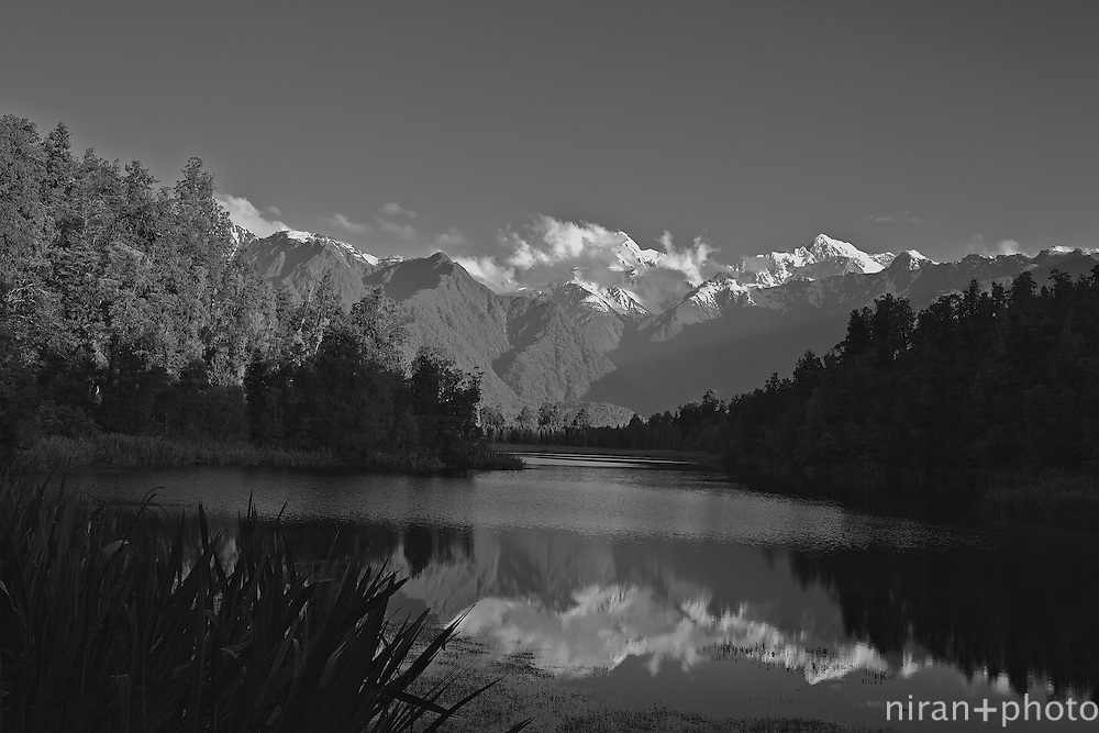 Lake Matheson Reflections, New Zealand