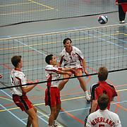 Volleybal Gemini Heren 1 - Amsterdam Heren 1