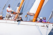 Adventuress sailing in the Opera House Cup Regatta.