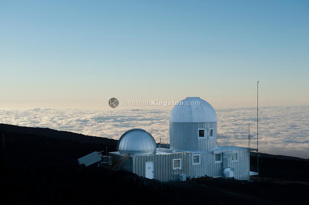 The High Altitude Observatory at the Mauna Loa Observatory on Hilo, Hawaii.
