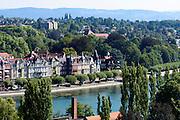 Blick vom Münster auf Seestraße, Konstanz, Bodensee, Baden-Württemberg, Deutschland