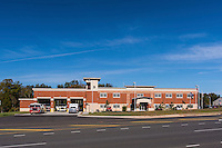 Brambleton Firehouse anf Fire Marshall Offices in Loudoun County Virginia by Jeffrey Sauers of Commercial Photographics, Architectural Photo Artistry in Washington DC, Virginia to Florida and PA to New England
