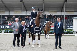 Buchwald Beatrice, GER, Victoria's Secret<br /> World Championship Young Dressage Horses <br /> Ermelo 2016<br /> © Hippo Foto - Dirk Caremans<br /> 28/07/16