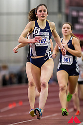 women's mile, heat 2, Madeline Chambers, Georgetown