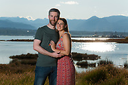 Abi & James Comox Engagement Portraits