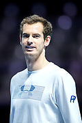 Andy Murray ahead of the Andy Murray Live event at SSE Hydro, Glasgow, Scotland on 7 November 2017. Photo by Craig Doyle.