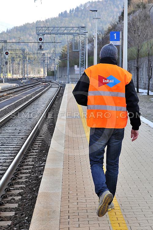 22/03/2011..Consegna Locomotore INRAIL..Stazione Tarvisio - Boscoverde..Foto di Simone Ferraro