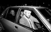 Jennifer Guinness is driven home after her kidnap ordeal.<br />