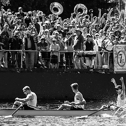 SEATTLE, WASHINGTON - MAY 7: The Washington Huskies Men's 8 win the 30th Annual Windermere Cup on the Montlake Cut in Seattle, WA. (Christopher Mast/Windermere Real Estate)