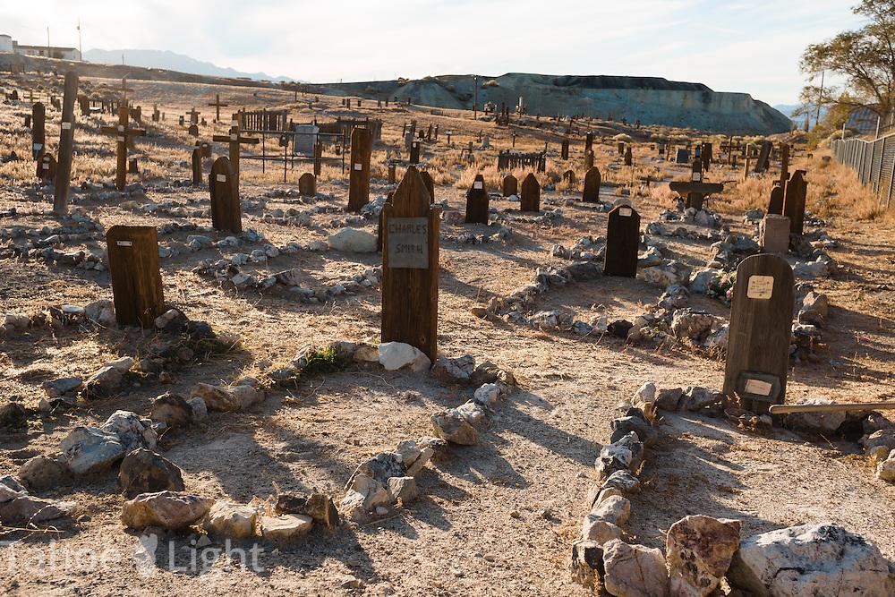 Historic Tonopah pioneer cemetery in Tonopah nevada.