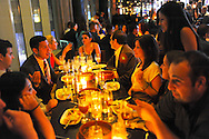 ATLANTIC CITY, NJ - JUNE 6: Ketel One Society New Jersey dinner is photographed June 6, 2012 at Amada in Atlantic CIty, New Jersey. (Photo by William Thomas Cain/Cain Images for Ketel One Vodka)