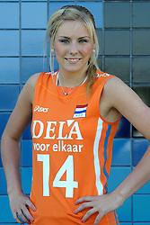 02-06-2010 VOLLEYBAL: NEDERLANDS VROUWEN VOLLEYBAL TEAM: ALMERE<br /> Reportage Nederlands volleybalteam vrouwen / Laura Dijkema<br /> ©2010-WWW.FOTOHOOGENDOORN.NL